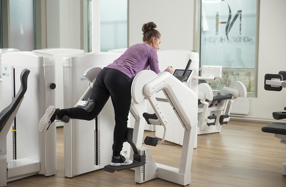 best hip pain treatment with hip extension device