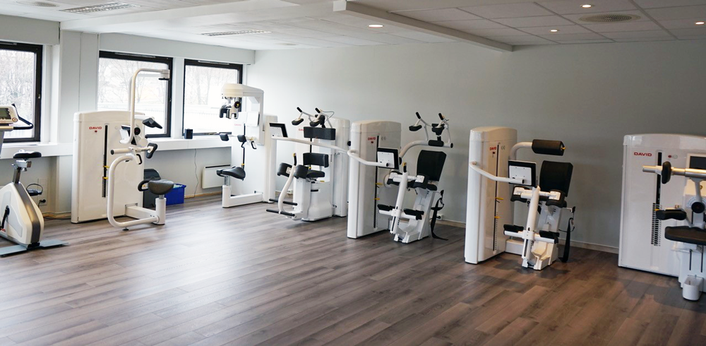 physiotherapy center in Okern, Norway
