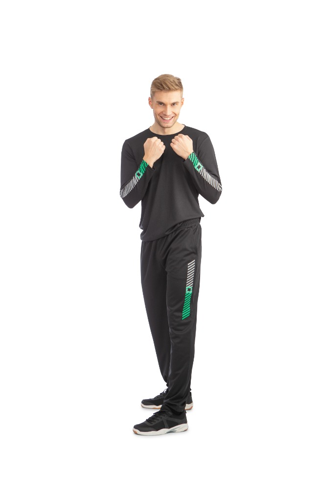 Men's Dry Fit Long Sleeve T-Shirt, Black
