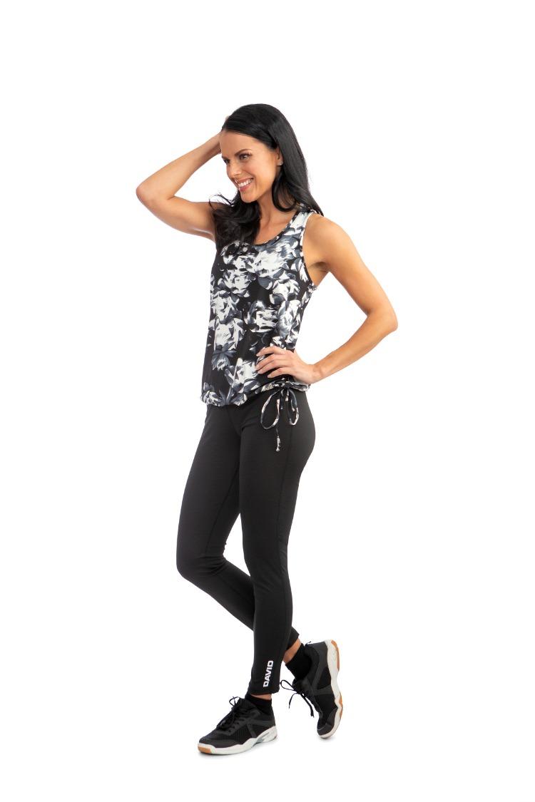 Ladies Fitness Trousers, Black