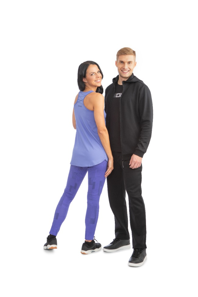 Ladies Fitness Trousers/ Violet
