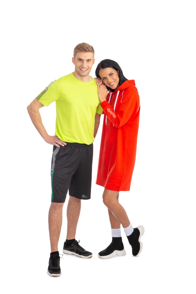 Ladies College Dress with Hood, Red