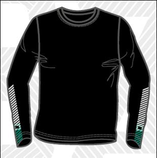 Men's Dry Fit Long Sleeve T-Shirt