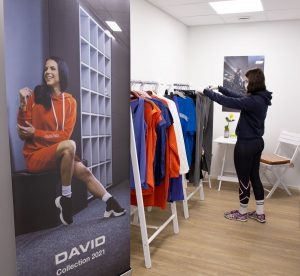 exclusive store for David clothing collection