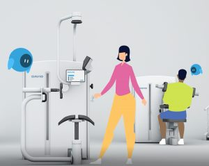 David devices reduces patient back pain and neck pain